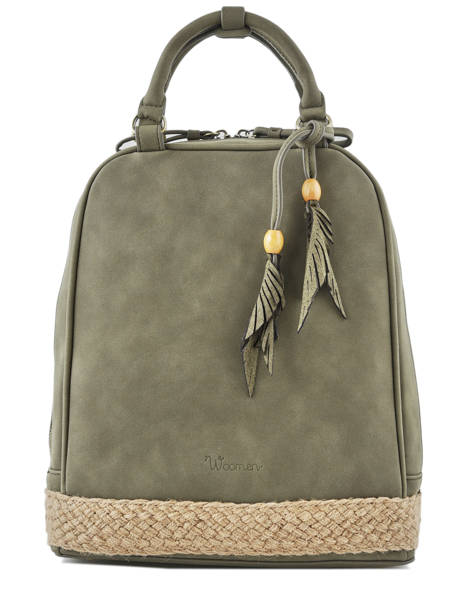 Backpack Woomen Green anemone WANE02