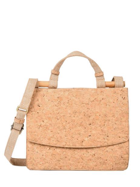 Shoulder Bag Coquelicot Woomen Brown coquelicot WCOL01