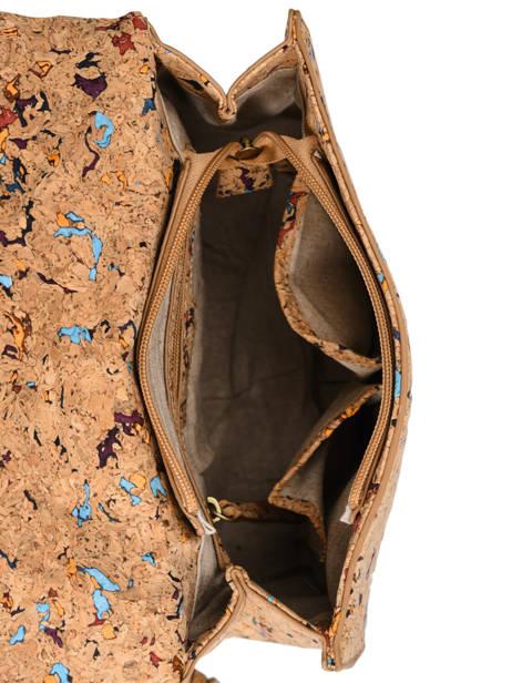 Shoulder Bag Coquelicot Woomen Beige coquelicot WCOL01 other view 5