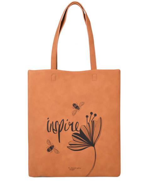 Sac Shopping Lilas Woomen Marron lilas WLILA01