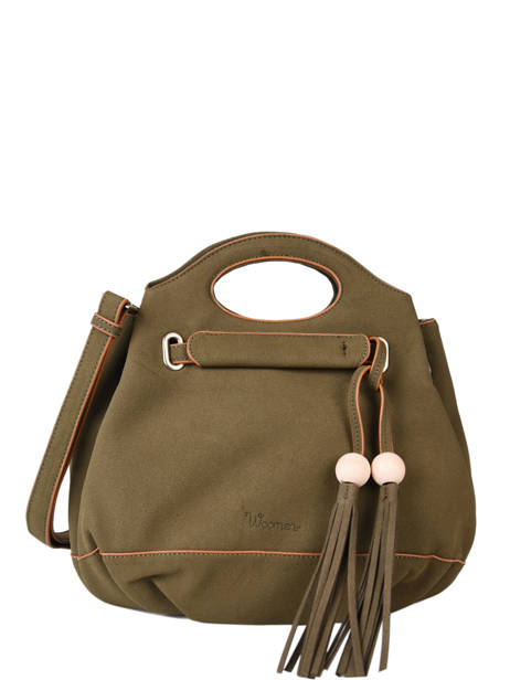 Cross Body Tas Iris Woomen Groen iris WIRIS08