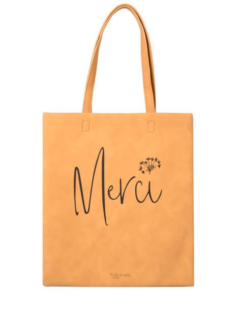 Sac Shopping Lilas Woomen Jaune lilas WLILA10