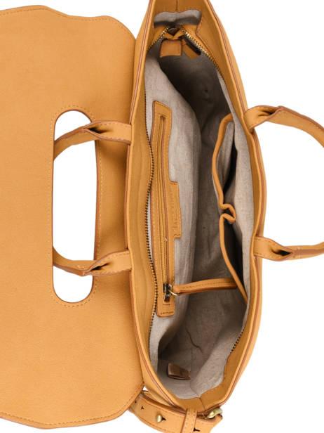 Briefcase Iris Woomen Yellow iris WIRIS81 other view 4
