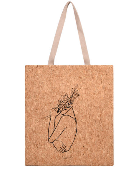 Shoulder Bag Lilas Woomen Beige lilas WLILA02