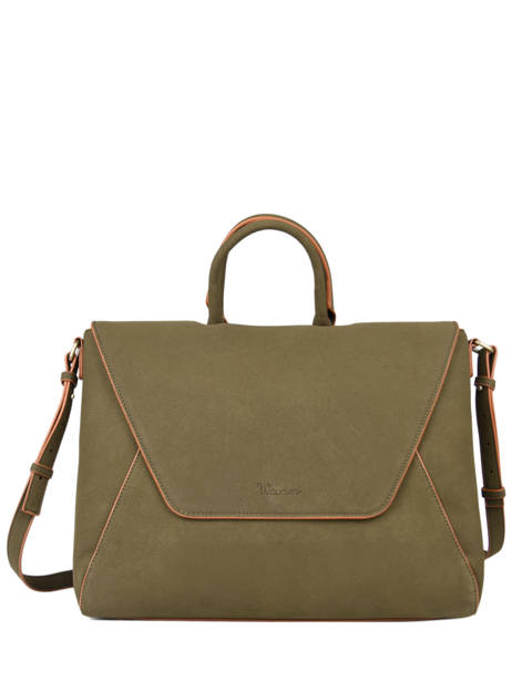 Briefcase Iris Woomen Green iris WIRIS81