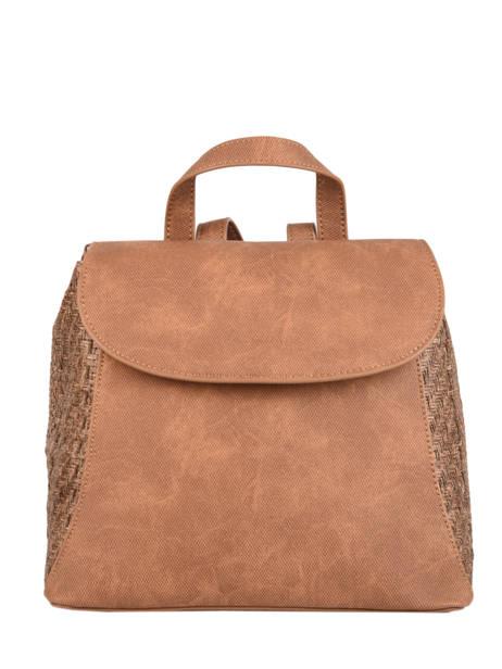 Backpack Dahlia Woomen Brown dahlia WDAH06