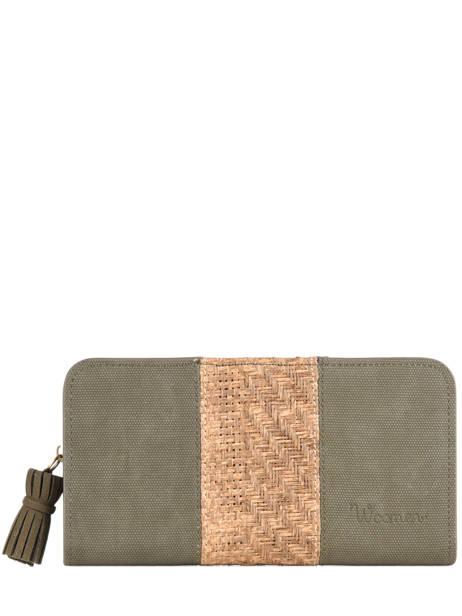 Wallet Dahlia Woomen Green dahlia WDAH91