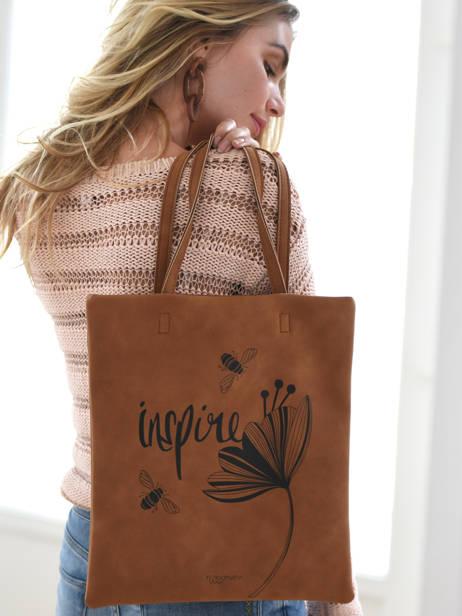 Sac Shopping Lilas Woomen lilas WLILA01 vue secondaire 3