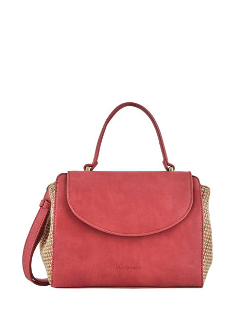 Crossbody Bag Abelia Woomen Red abelia WABEL03