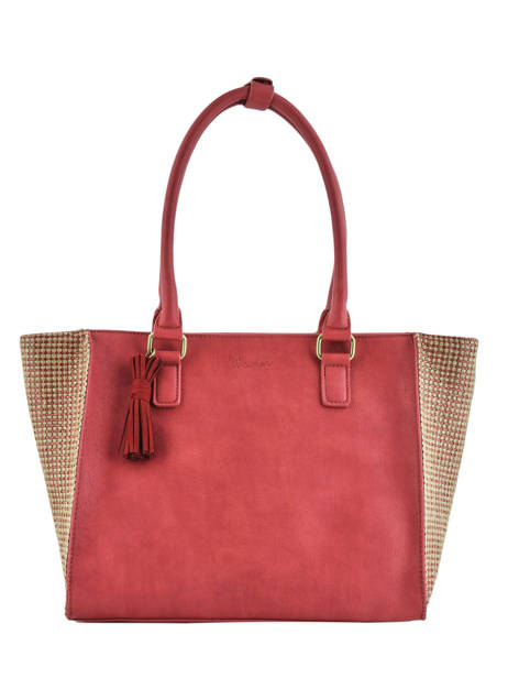 Shoulder Bag Abelia Woomen Red abelia WABEL05