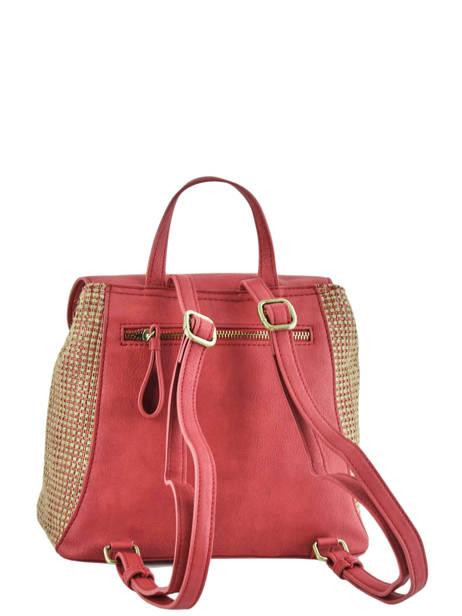 Backpack Abelia Woomen Red abelia WABEL06 other view 4
