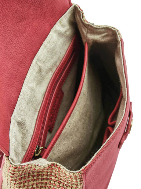 Backpack Abelia Woomen Red abelia WABEL06 other view 5