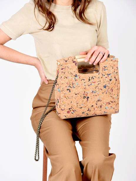 Shoulder Bag Coquelicot Woomen Beige coquelicot WCOL04 other view 2