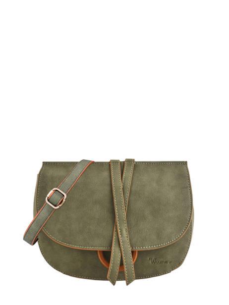Shoulder Bag Acacia Woomen Green acacia WACAC06