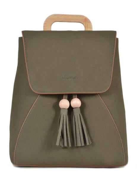 Backpack Iris Woomen Green iris WIRIS06