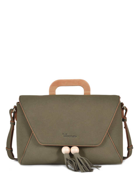 Crossbody Bag Iris Woomen Green iris WIRIS07
