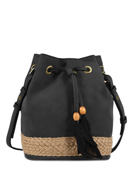 Crossbody Bag Anemone Woomen Black anemone WANE01