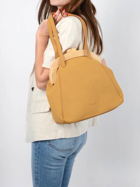 Shoulder Bag Iris Woomen Yellow iris WIRIS03 other view 2