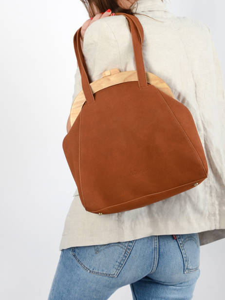 Shoulder Bag Iris Woomen Brown iris WIRIS03 other view 2