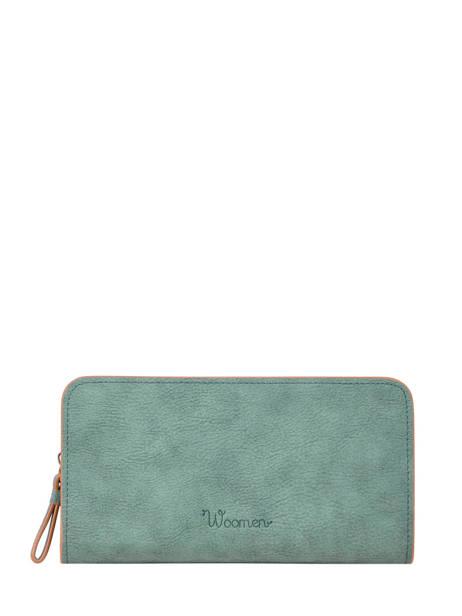 Wallet Woomen Blue acacia WACAC91