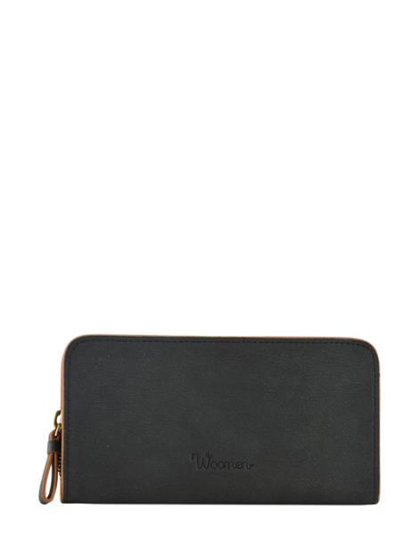 Wallet Woomen Black acacia WACAC91