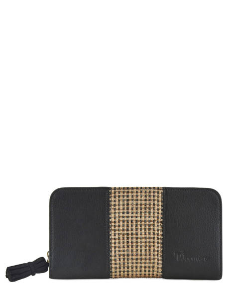 Wallet Woomen Black abelia WABEL91