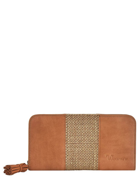 Wallet Woomen Brown abelia WABEL91