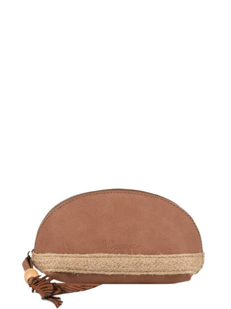 Coin Purse Anemone Woomen Brown anemone WANE92