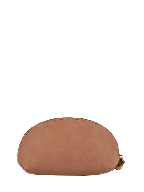 Coin Purse Anemone Woomen Brown anemone WANE92 other view 2