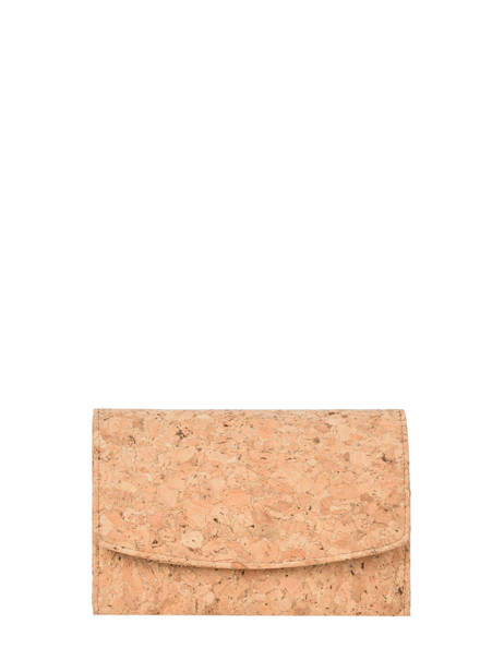 Compact Wallet Coquelicot Woomen Brown coquelicot WCOL91