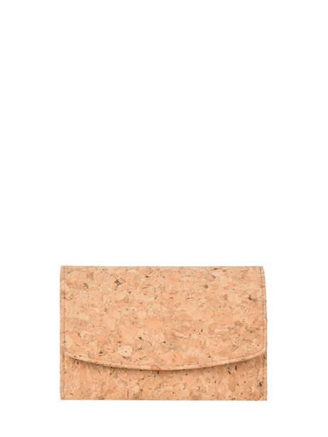 Porte-monnaie Coquelicot Woomen Beige coquelicot WCOL91