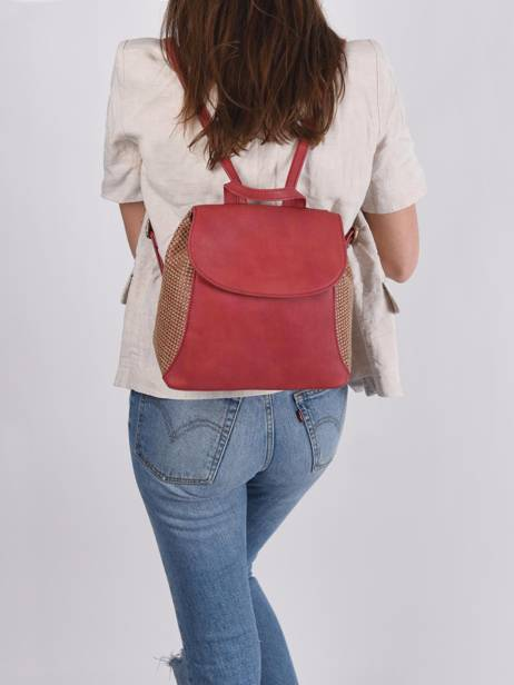 Backpack Abelia Woomen Red abelia WABEL06 other view 2