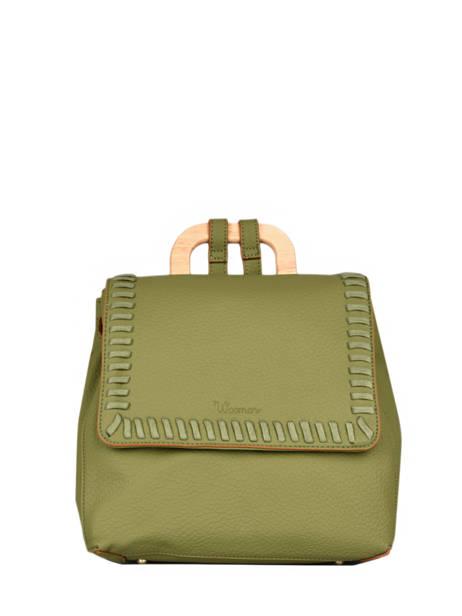 Backpack Woomen Green glaieul WGLA06