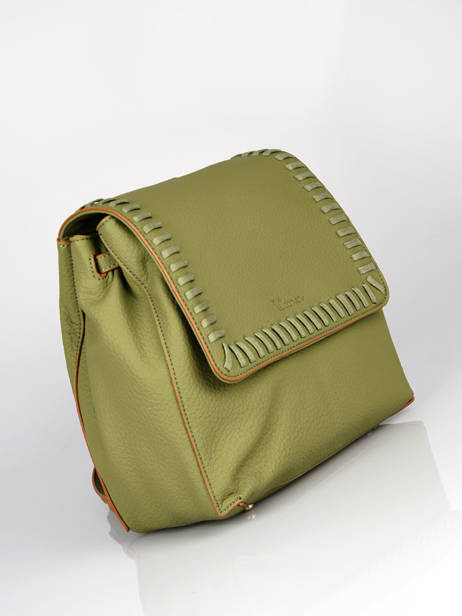 Backpack Woomen Green glaieul WGLA06 other view 2