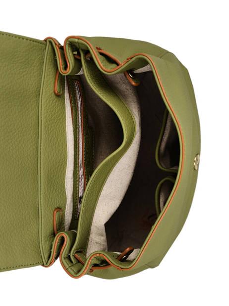 Backpack Woomen Green glaieul WGLA06 other view 4
