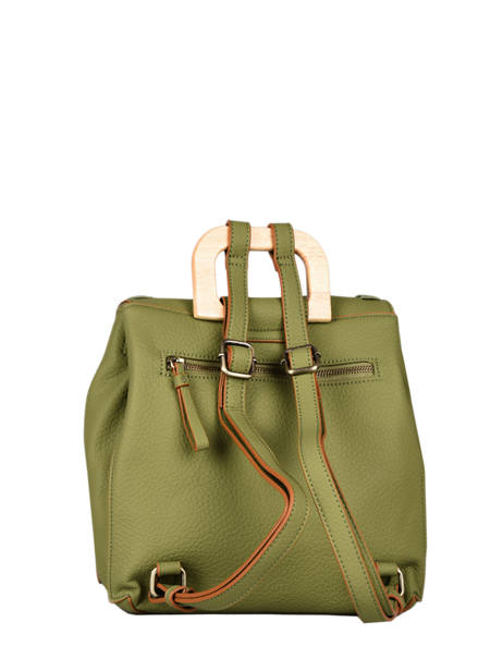 Backpack Woomen Green glaieul WGLA06 other view 3