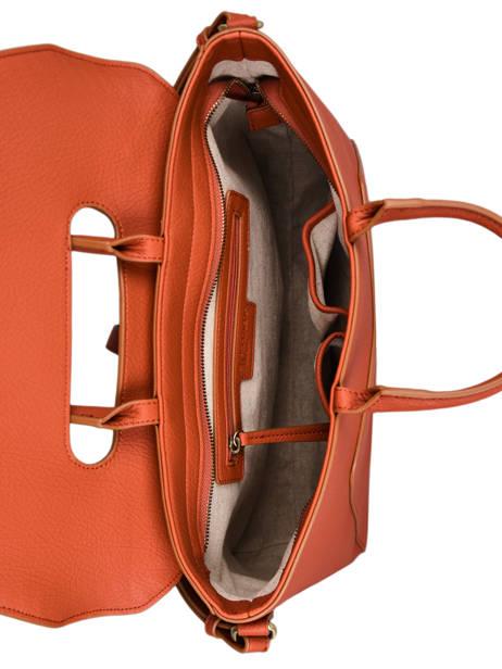 Briefcase Woomen Orange glaieul WGLA81 other view 5