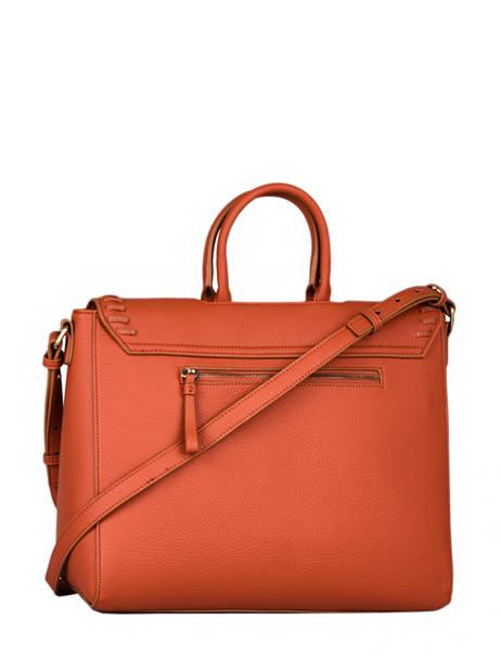 Briefcase Woomen Orange glaieul WGLA81 other view 4