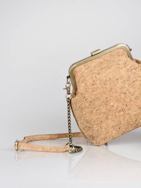 Shoulder Bag Coquelicot Woomen Gold coquelicot WCOL07 other view 2