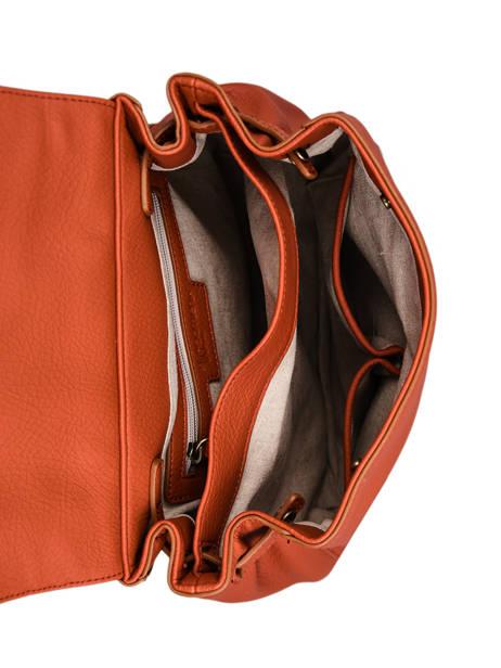 Backpack Woomen Orange glaieul WGLA06 other view 4