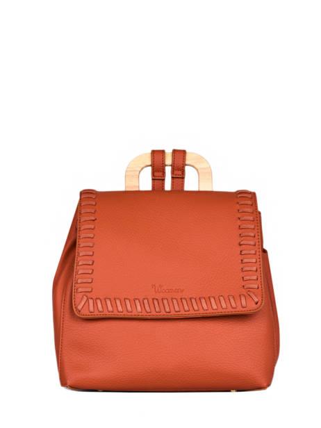 Backpack Woomen Orange glaieul WGLA06