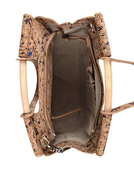 Shoulder Bag Coquelicot Woomen Beige coquelicot WCOL05 other view 4