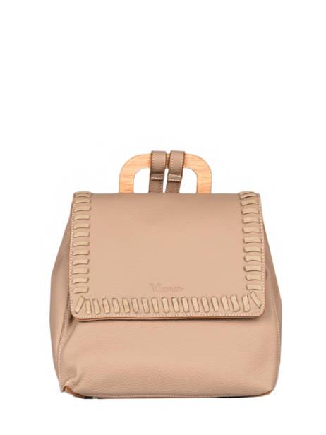 Backpack Woomen Brown glaieul WGLA06