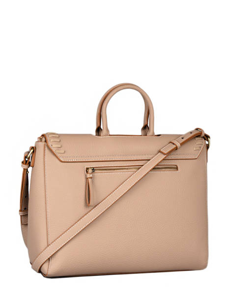 Briefcase Woomen Brown glaieul WGLA81 other view 3