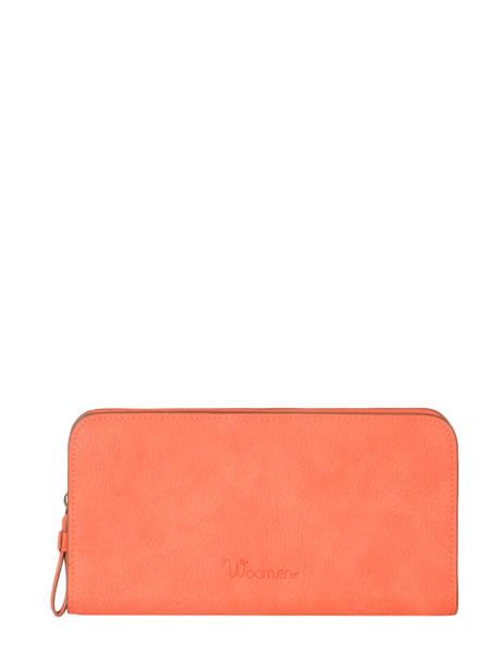 Wallet Woomen Orange acacia WACAC91