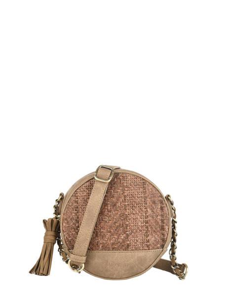 Shoulder Bag Dahlia Woomen Brown dahlia WDAH02