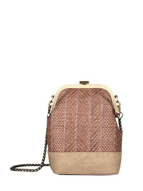 Shoulder Bag Dahlia Woomen Brown dahlia WDAH08