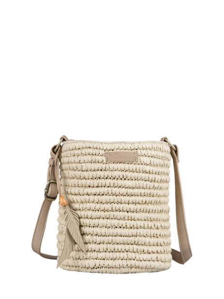 Shoulder Bag Epis Straw Woomen Brown epis WEPIS04