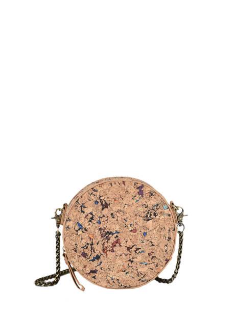 Shoulder Bag Coquelicot Woomen Beige coquelicot WCOL06