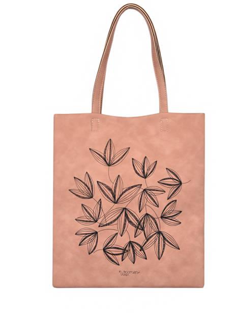 Sac Shopping Lilas Woomen Rose lilas WLILA01